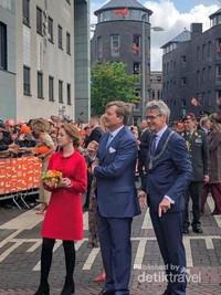 Kunjungan Raja Willem Alexander beserta keluarga ke kota Amersfoort