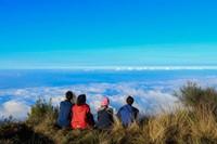 Lautan awan diatas ketinggian Gunung Butak
