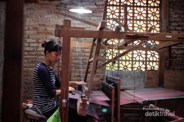 Tenun ikat Troso, Desa Troso, Jepara, Jawa Tengah