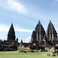 Candi Prambanan di Yogyakarta