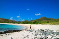 Pasir putih yang terbesar di sepanjang pantai