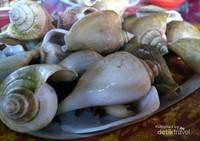 Olahan Gonggong, salah satu makanan khas Tanjung Pinang