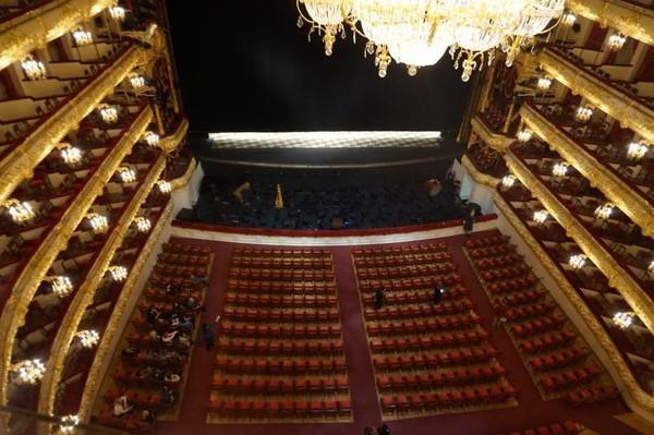 Teater ini pada awalnya didesain oleh seorang arsitek bernama Joseph Bove