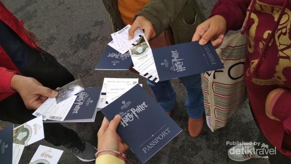 Warner Bros Studio Harry Potter Passport