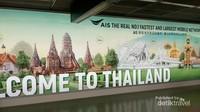 Setelah terbang selama 3 jam dari Jakarta, kami tiba di Bandara Don Mueang Bangkok