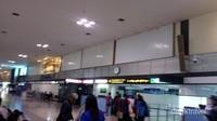 Saat kami tiba, suasana bandara tidak begitu padat
