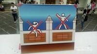 Larangan untuk berdiri atau duduk di tepi bangunan
