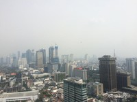 sisi Selatan - pemandangan gedung pencakar langit Jakarta