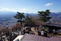 Pemandangan 360 derajat bisa dilihat dari dek observasi Mount Tejo