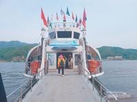 Ferry menuju Nami Island.