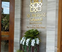 Hotel Al Meroz terletak di Ramkhamhaeng Road, Suan Luang, Bangkok. Sekitar 30 menit dari Bandara Don Mueang
