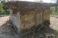 Salah satu batu megalitik yang beratnya hingga berton-ton