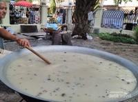 Belanga tempat memasak kanji rumbi