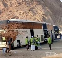 Beralih ke Jabal Magnet, yang ramai dikunjungi jamaah haji dan umrah