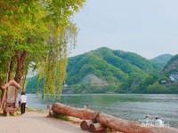 Sungai Han yang mengelilingi Pulau Nami.