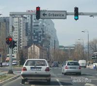 suasana pusat kota Sarajevo