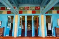 Pintu masuk masjid Dungan