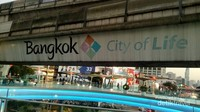 Suasana di sekitar jalur MRT
