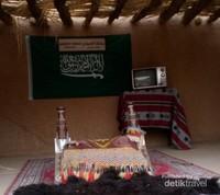 Museum ini menggambarkan kondisi kehidupan bangsa Arab di Masa lampau
