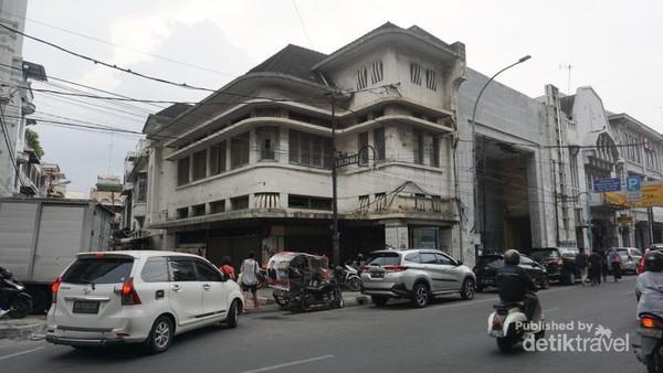 Bangunan Tua di Kota Tua Medan