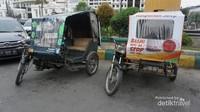 Mau jalan-jalan di Kota Tua Medan, bisa menyewa becak motor