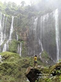 Salah satu air terjun paling cantik di Jawa Timur yang siap memacu adrenalin kamu.