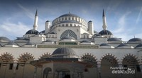 Kembaran masjid Biru, sangat mirip sekali dengan luasan yg lebih besar