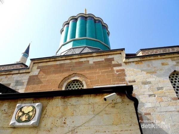 Menara Masjid Mevlana yg kini berubah menjadi museum