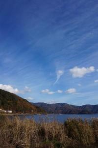 Danau Kawaguchiko terletak di wilayah Kota Fujikawaguchiko