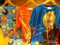 Salah satu souvenir di toko souvenir One Piece
