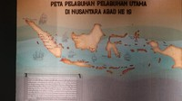 Peta persebaran pelabuhan di Indonesia ppada abad ke 16