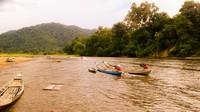 Sungai Subayang dan lansekap Bukit Rimbang Baling yang indah