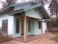Salah satu rumah homestay di Desa Tanjung Belit