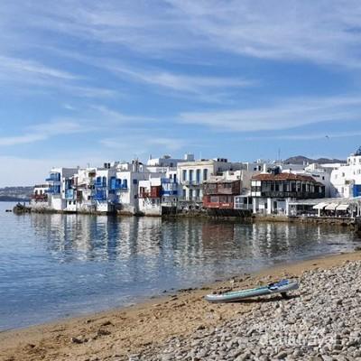 Desa Berlantai Macan Tutul di Yunani