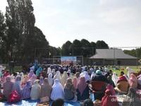 Suasana khotbah Idul Fitri