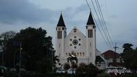 Gereja Ijen Katedral Malang (Foto: Aryasuta)