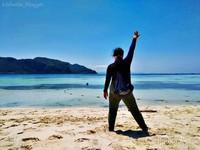 Selamat datang di Pantai Pulau Sibuan yang bersih dan indah