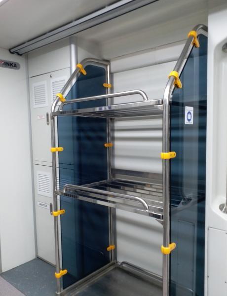 Ruang khusus untuk menyimpan koper