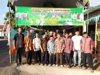 Stand Kupatan massal didesa Boyolangu, kecamatan Boyolangu
