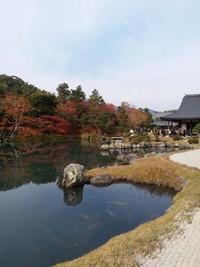 Sogenchi-teien atau Taman Tenryu-ji, objek utama di Tenryu-ji Temple