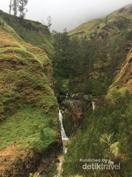Salah satu sudut lereng Gunung Rinjani