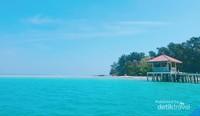 Menuju Dermaga Pulau Semak Daun.