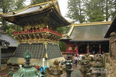 Potret Altar Shogun Tokugawa di Jepang