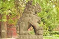 Patung singa penjaga