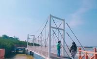 Berbagai jembatan unik di taman nasional ini.