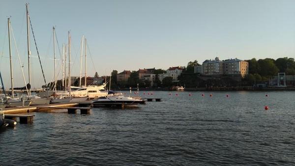 Sailing Boat yang tertata rapi