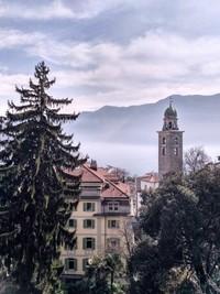 Gorgeous view of Lugano