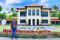 Pusat sejarah dan budaya Melayu ada di sini.