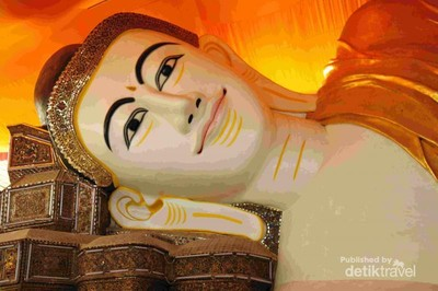 Legenda di Balik Patung Buddha Tidur Myanmar