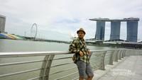 Setelah seharian muter-muter singapore foto-foto bolehlah.